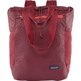 Patagonia Ultralight Black Hole Tote Bag, roamer red